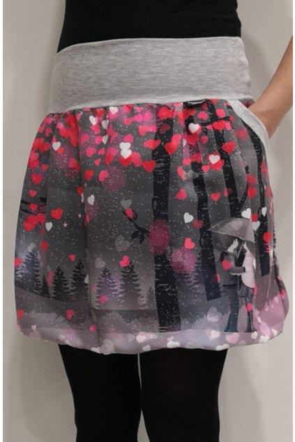 Balonová sukně Valentýnské setkání I.   micropeach