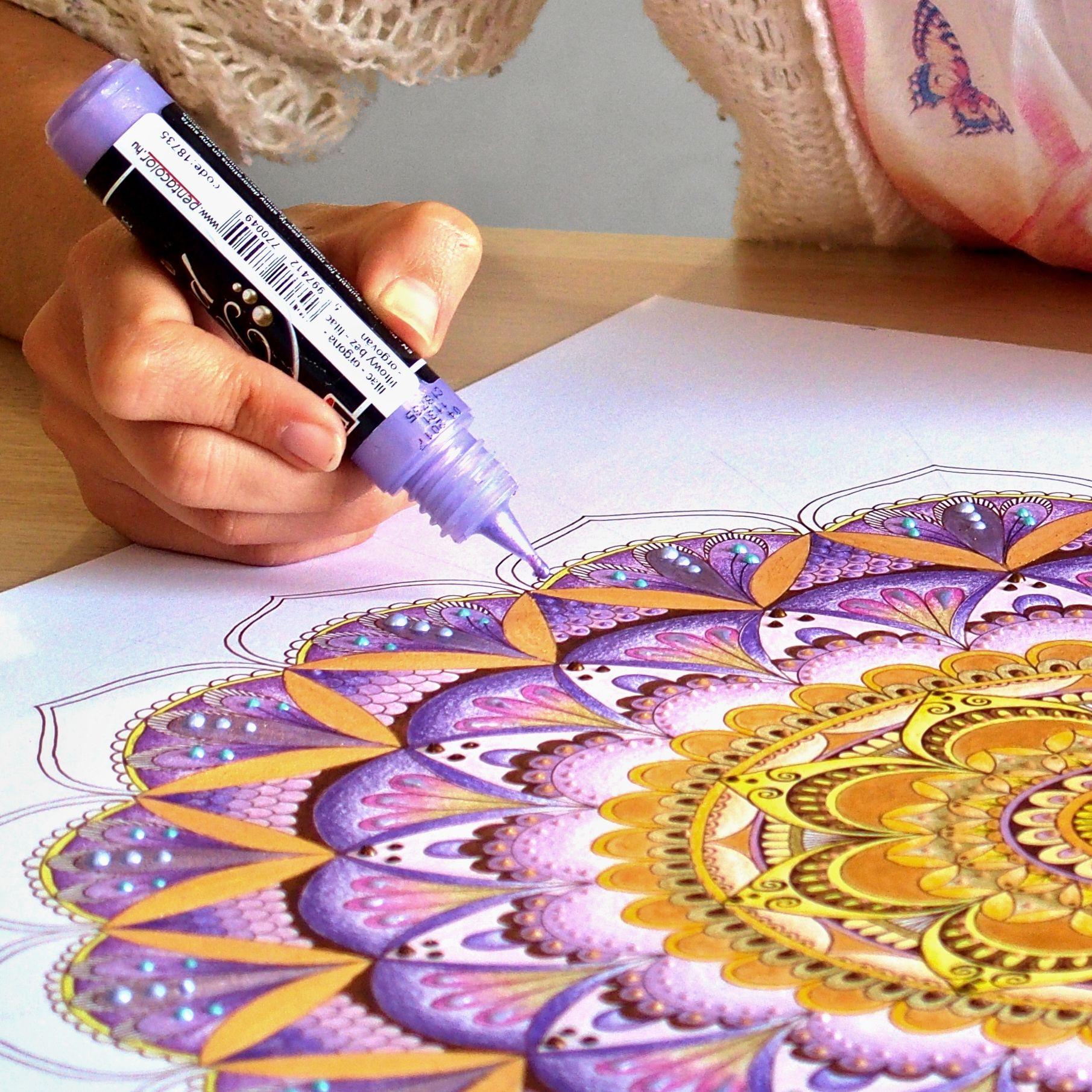 Mandala: poslání aneb proč kreslit mandaly a návod jak na to