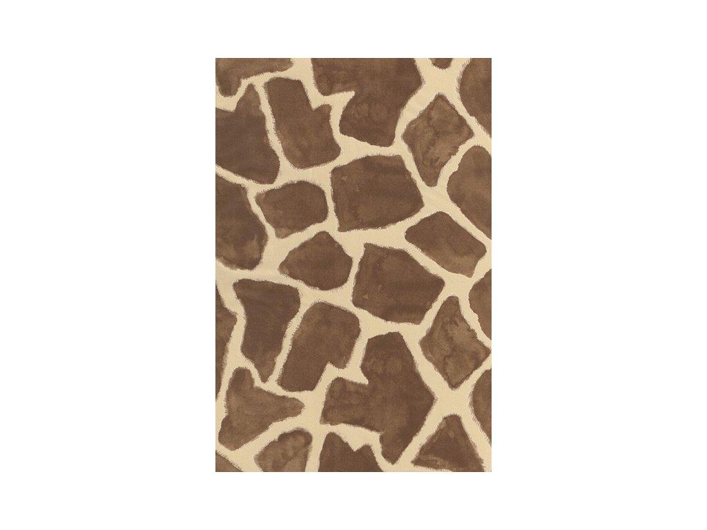 Papír na decoupage Hnědá kůže žirafa