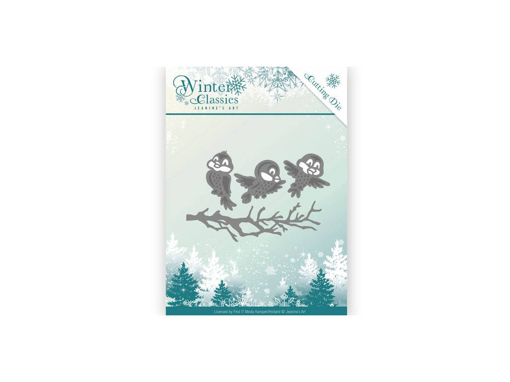 Šablona Winter Classics - ptáčci