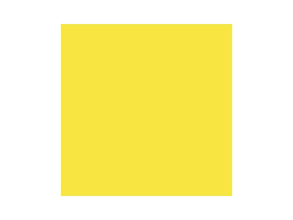 Barevný papír sluneční žlutá