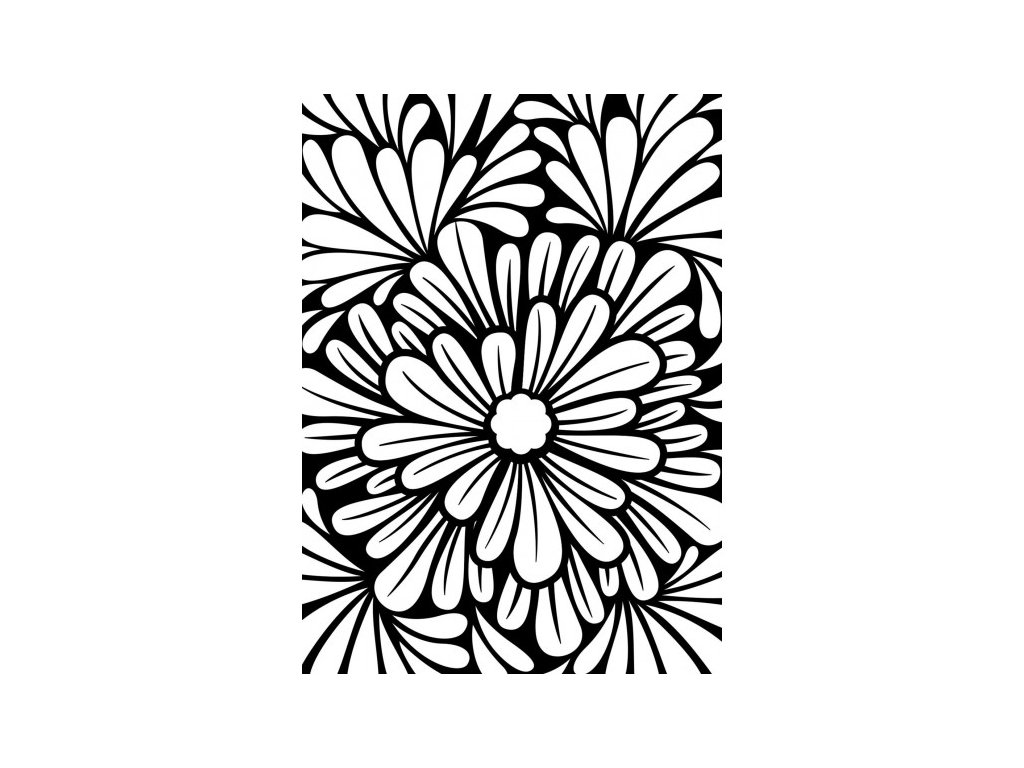 Embosovací kapsa Květiny
