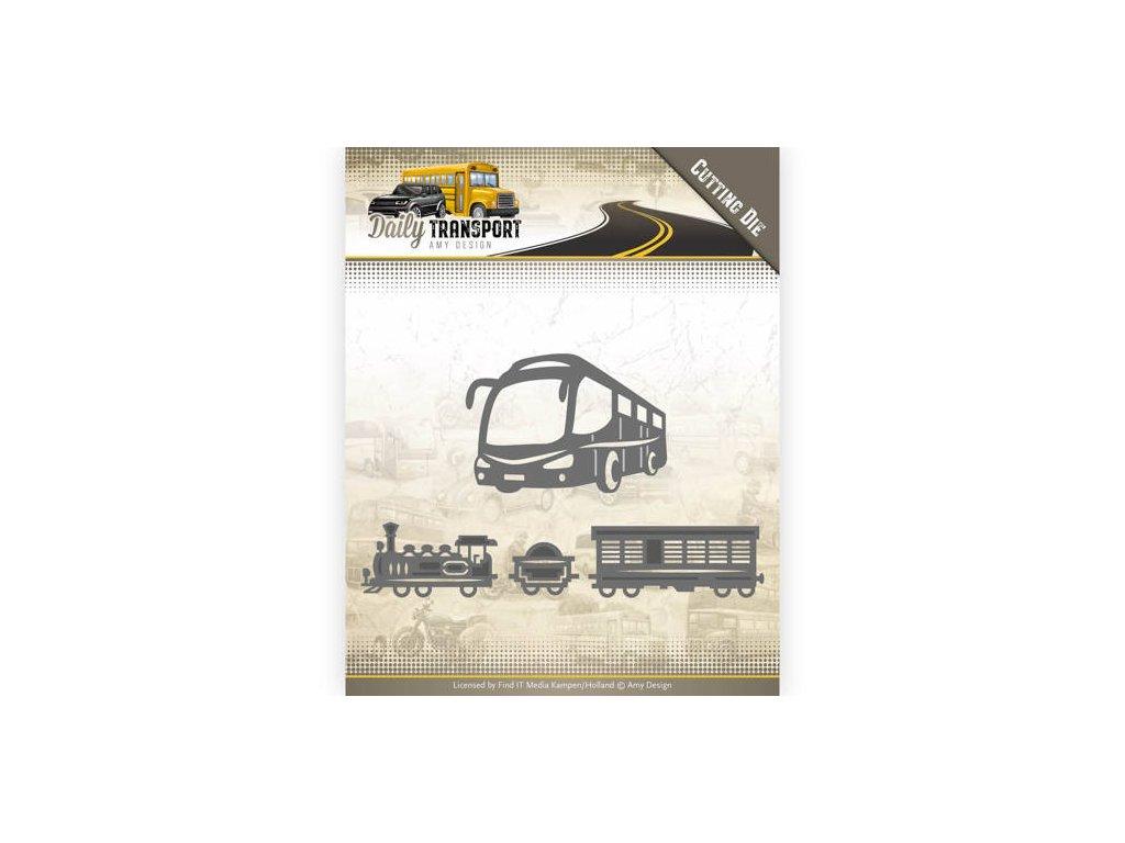 Šablony kovové vyřezávací Veřejná doprava