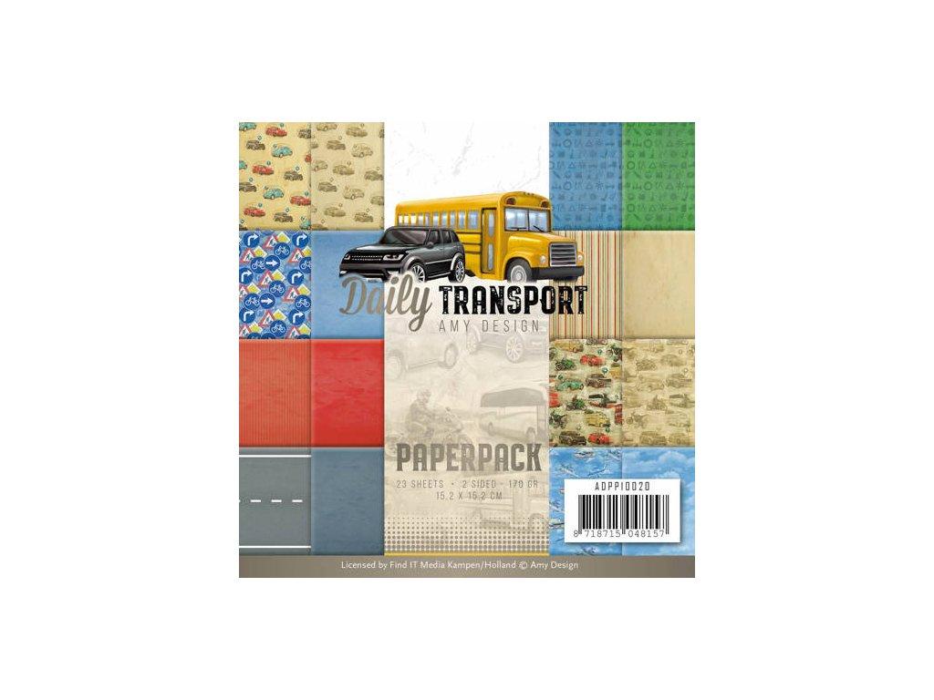 Sada papírů Veřejná doprava