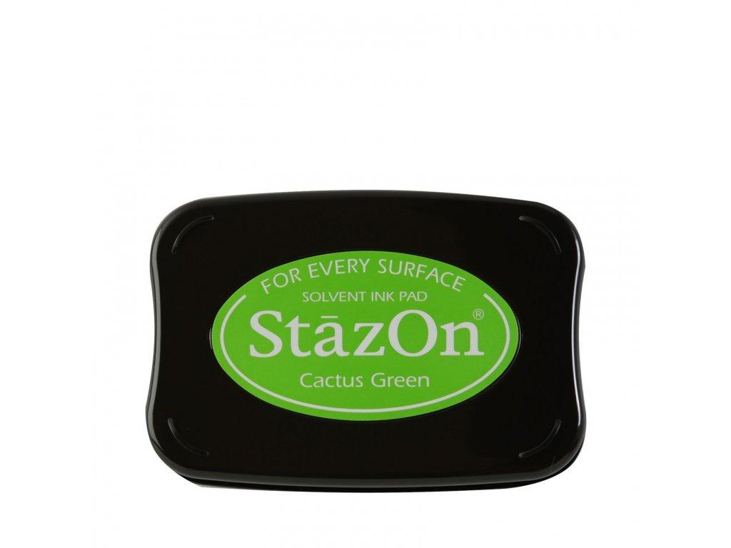 Razítkovací polštářek StazOn zelený