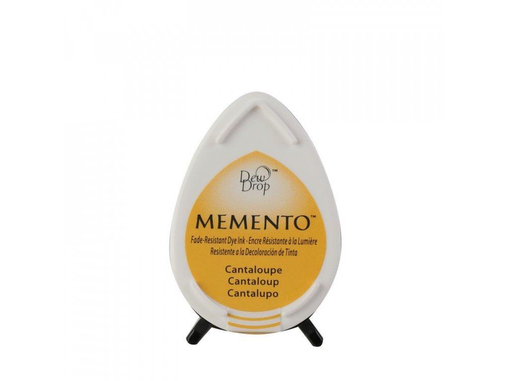 Razítkovací polštářek Memento melounový žlutý