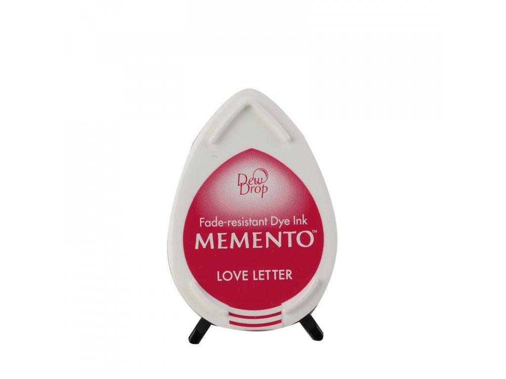 Razítkovací polštářek Memento červenorůžový