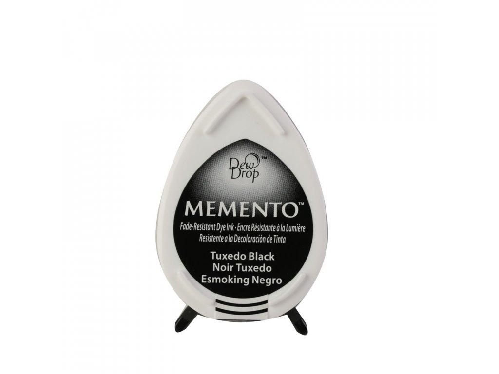 Razítkovací polštářek Memento černý