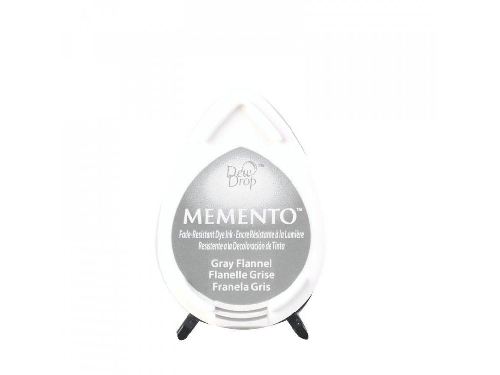 Razítkovací polštářek Memento tmavě šedý