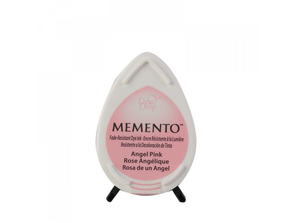 Razítkovací polštářek Memento světle růžový