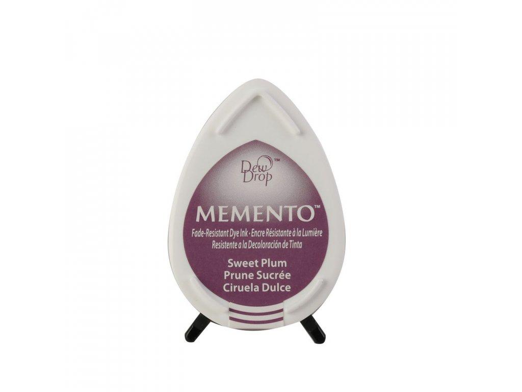 Razítkovací polštářek Memento švestkově fialový