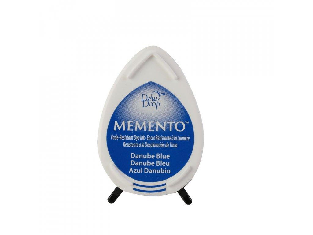 Razítkovací polštářek Memento modrý