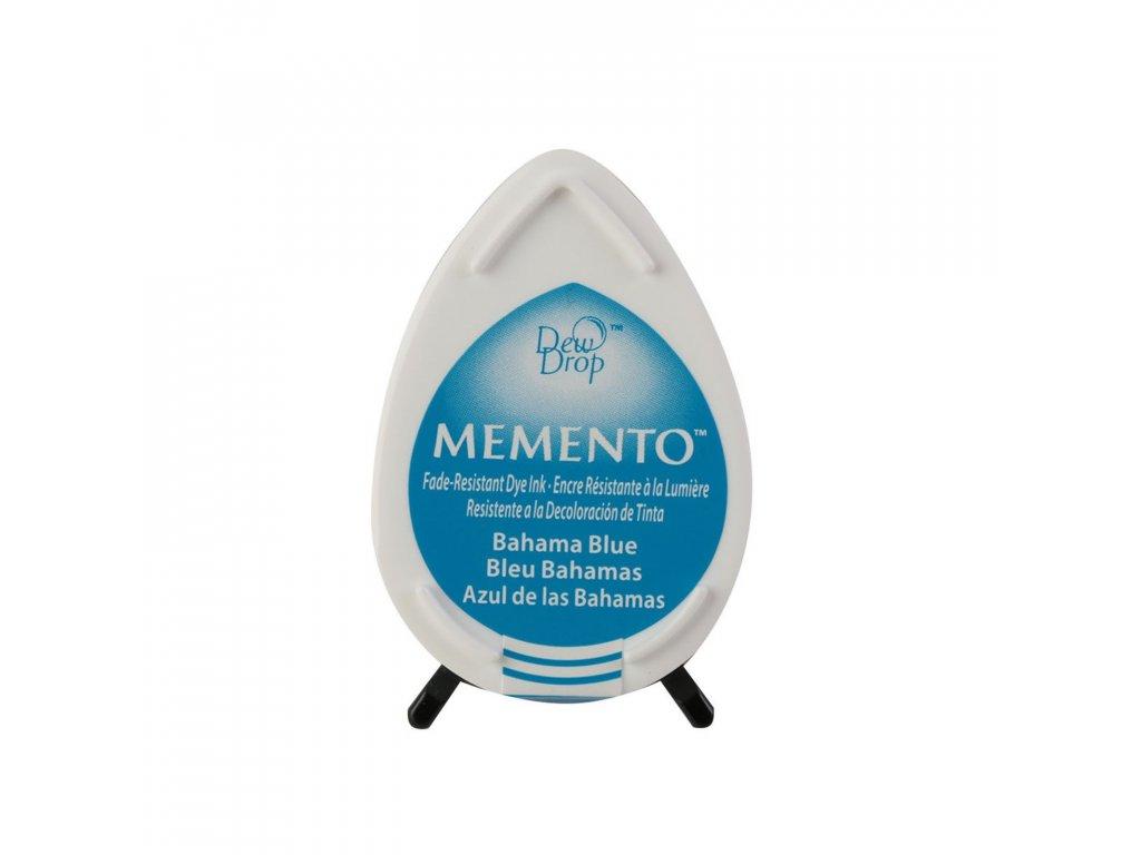 Razítkovací polštářek Memento Bahama modrý
