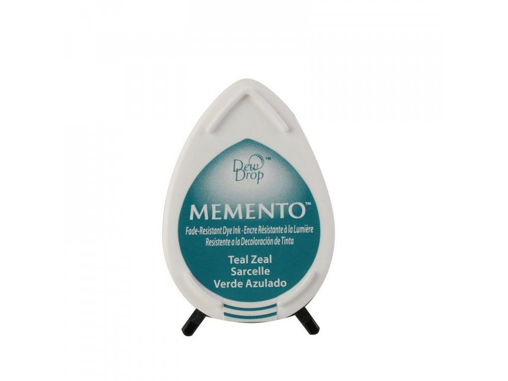 Razítkovací polštářek Memento šedozelený