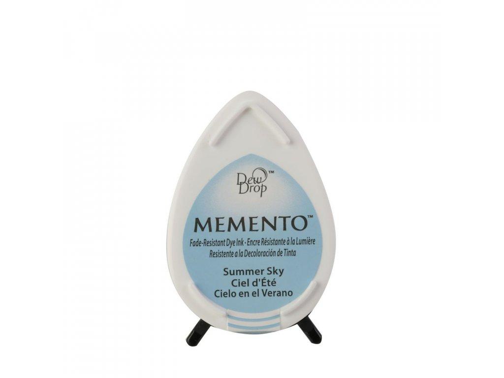 Razítkovací polštářek Memento světle modrý
