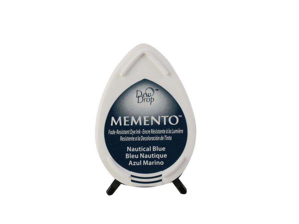 Razítkovací polštářek Memento námořní modř