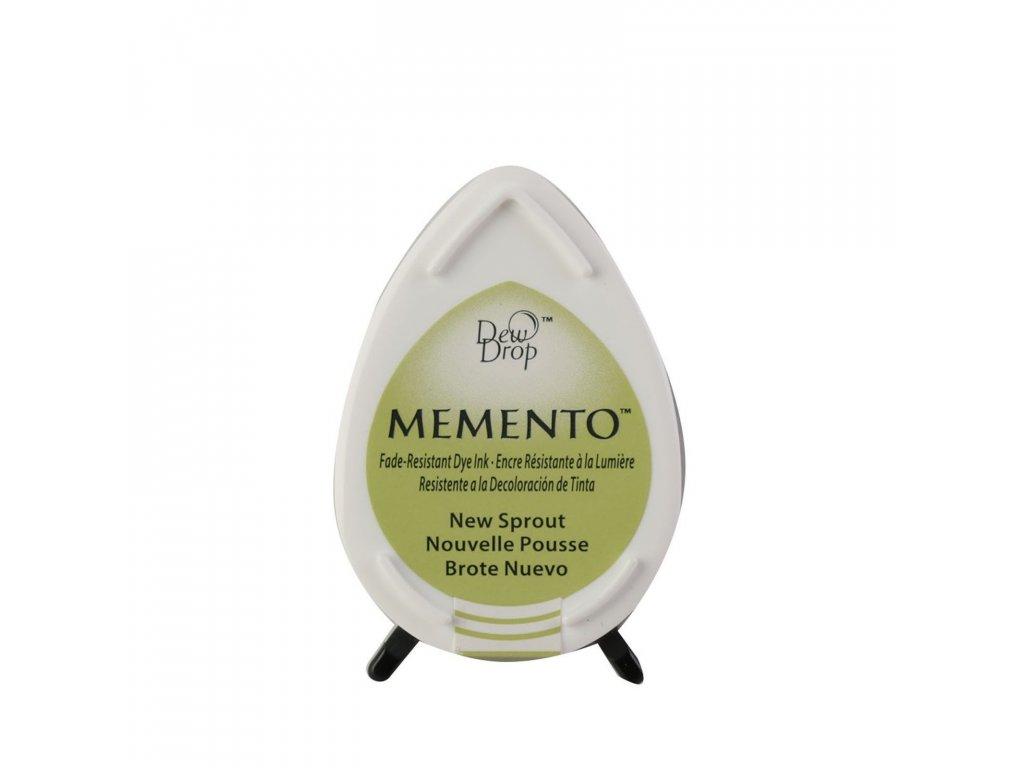 Razítkovací polštářek Memento zelený