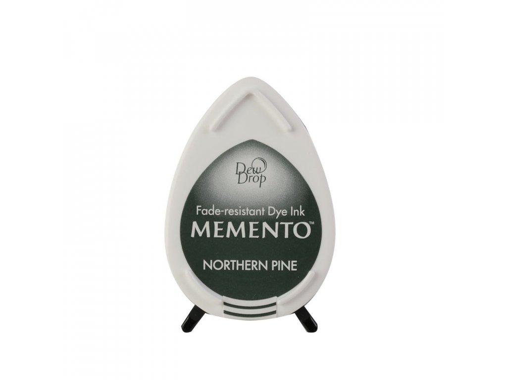 Razítkovací polštářek Memento modrozelený