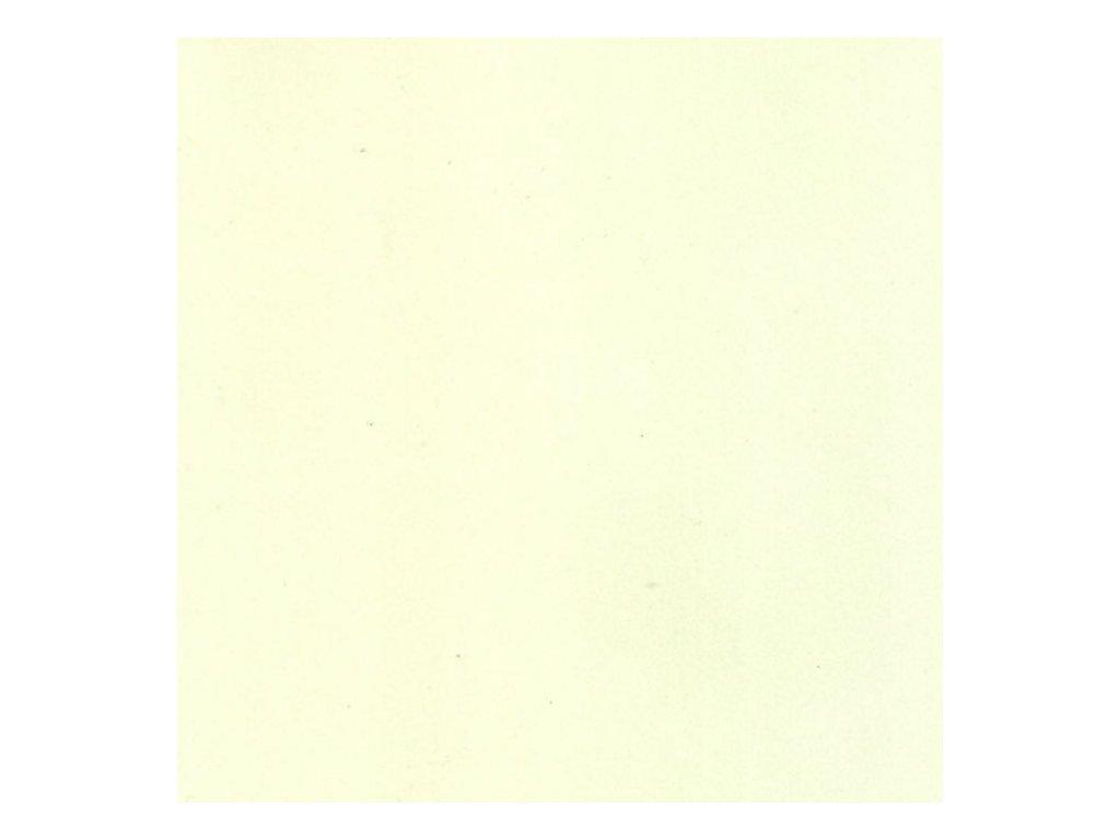 Pěnovka Foamiran Krémově žlutá 30x35cm