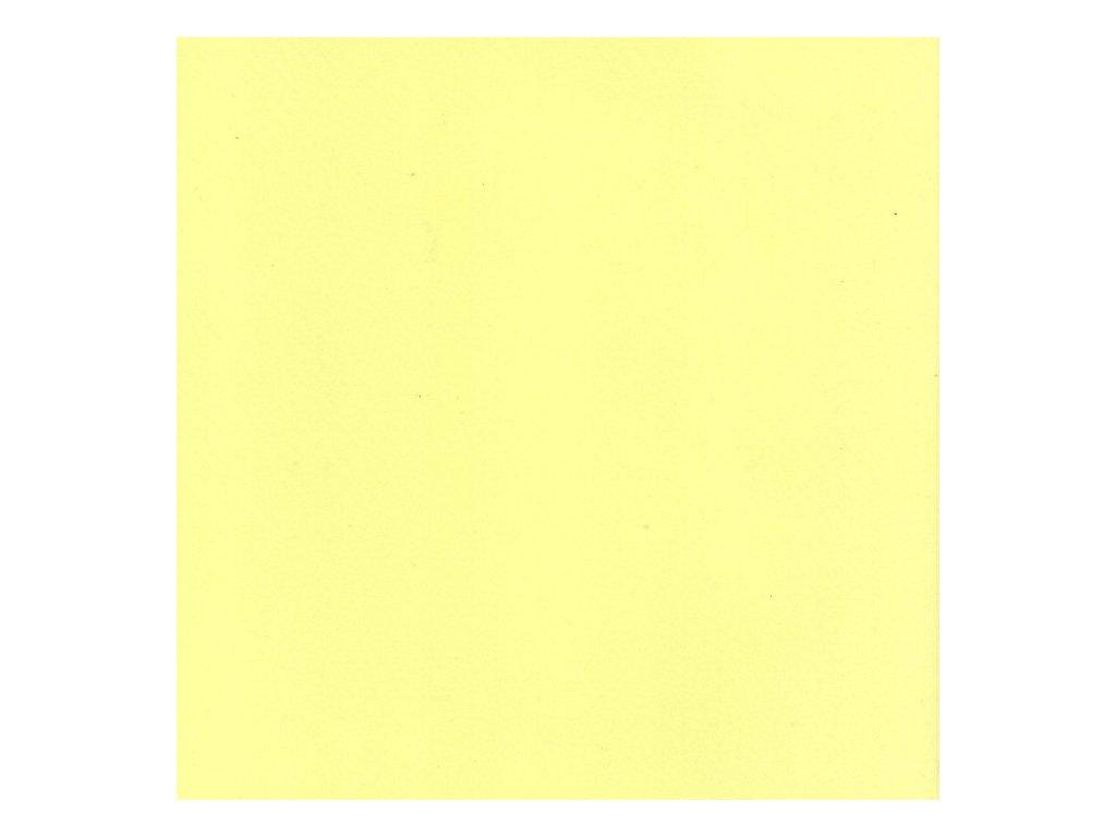 Pěnovka Foamiran Světle žlutá 30x35cm