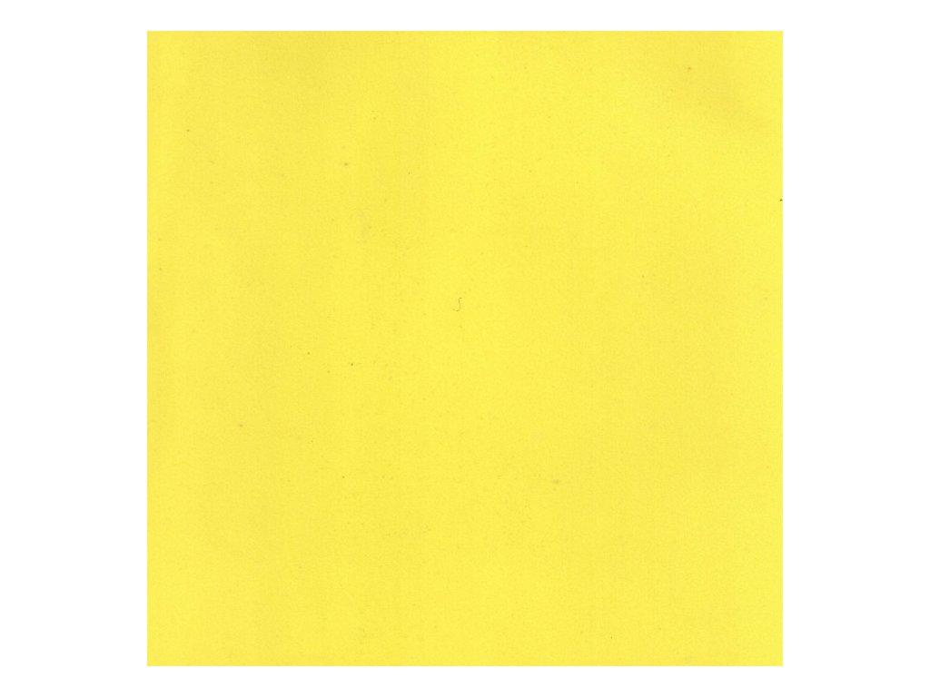 Pěnovka Foamiran Žlutá 30x35cm