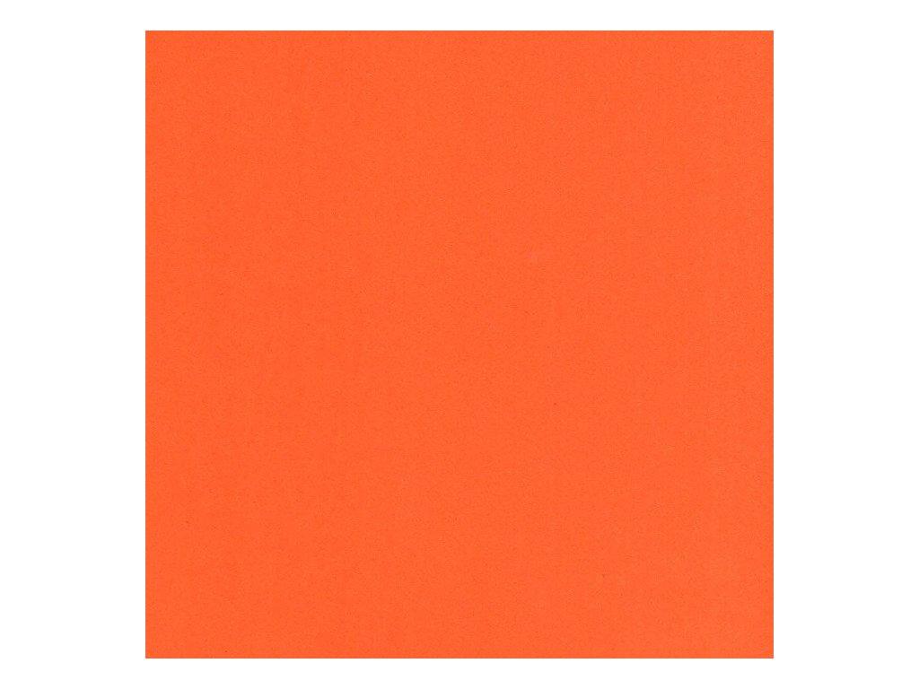 Pěnovka Foamiran Oranžová 30x35cm