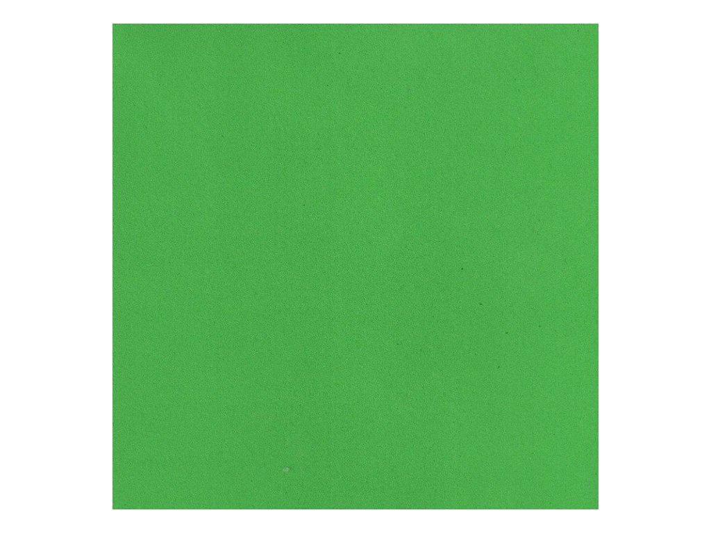Pěnovka Foamiran Světle zelená 30x35cm