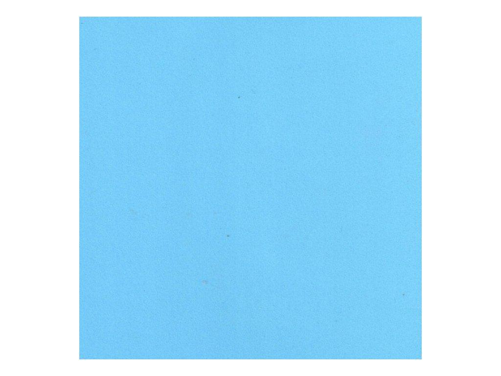 Pěnovka Foamiran Světle modrá 30x35cm