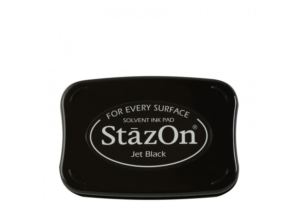 Razítkovací polštářek StazOn černý