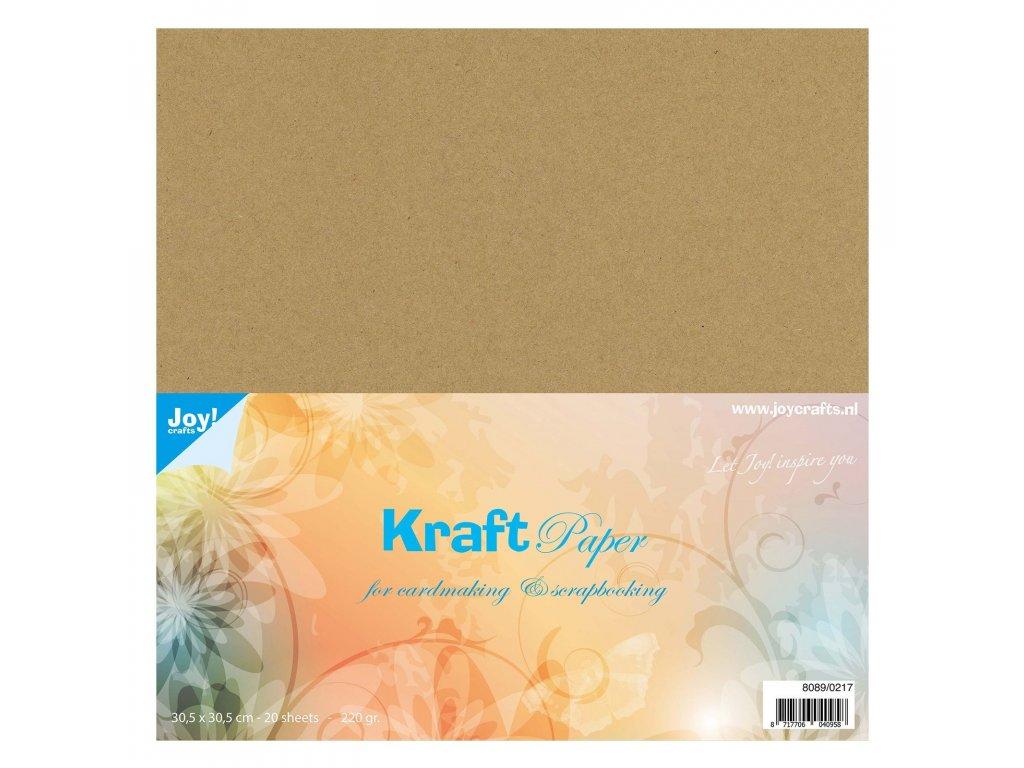 Papír Kraftstax 30,5x30,5 cm