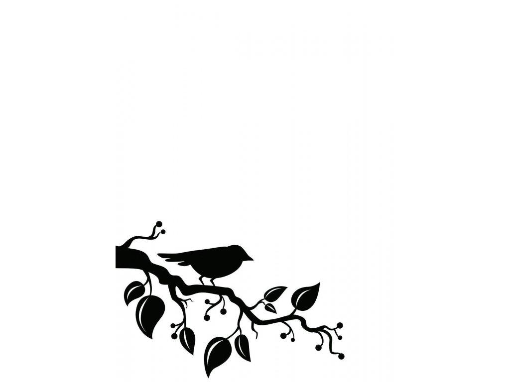 Embosovací kapsa Pták na větvi
