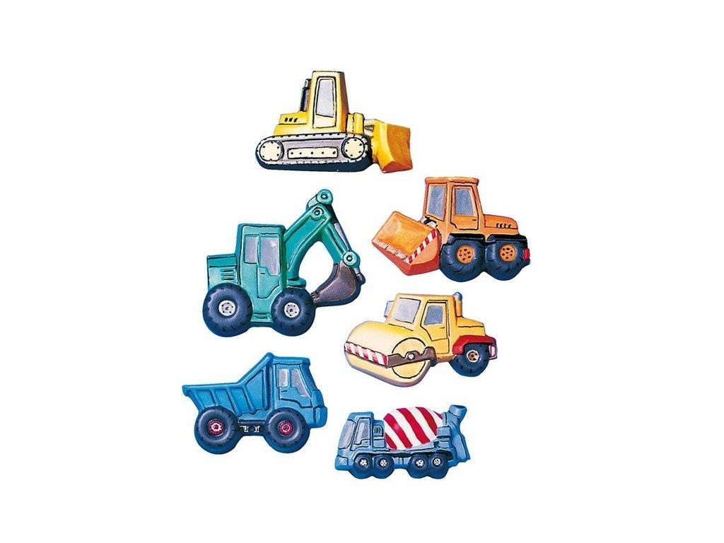 Forma na odlévání Stavební auta