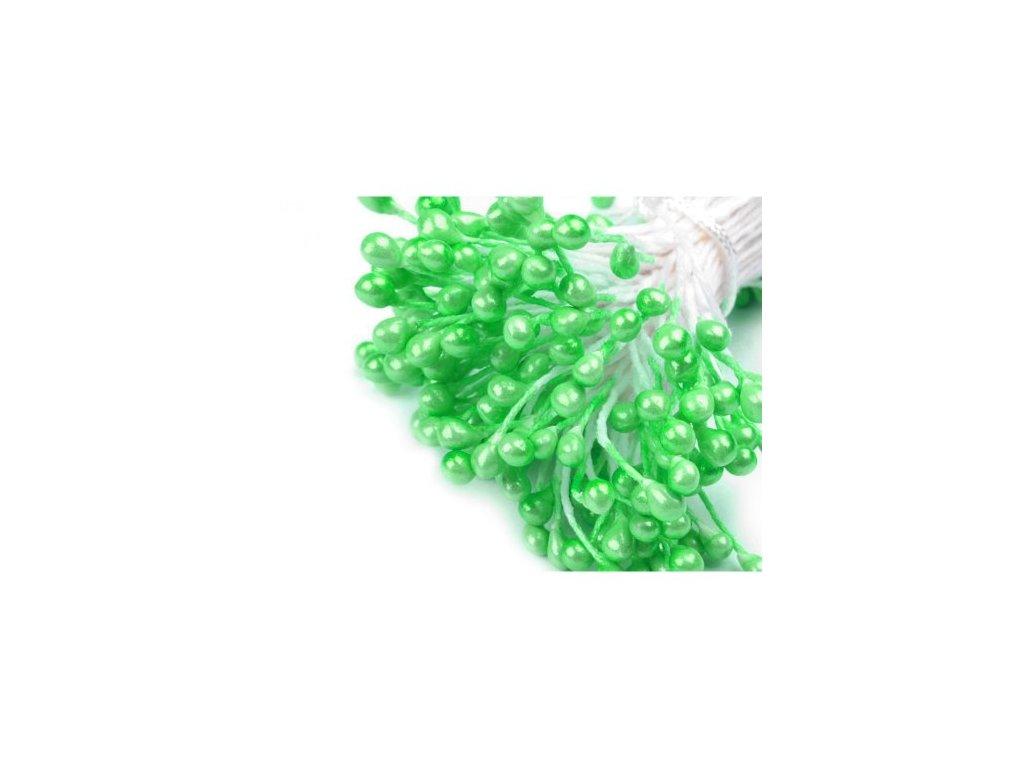 Pestíky do květin - perleťové zelené