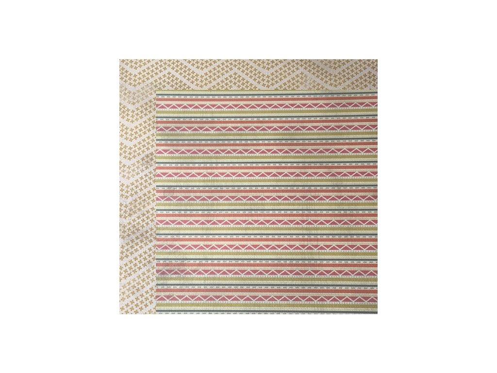 Oboustranný papír Stripes