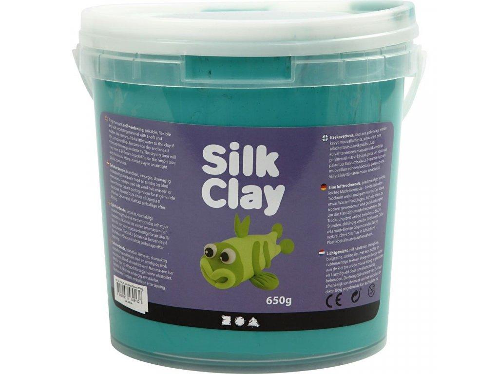 Silk Clay kreativní hmota zelená tmavá
