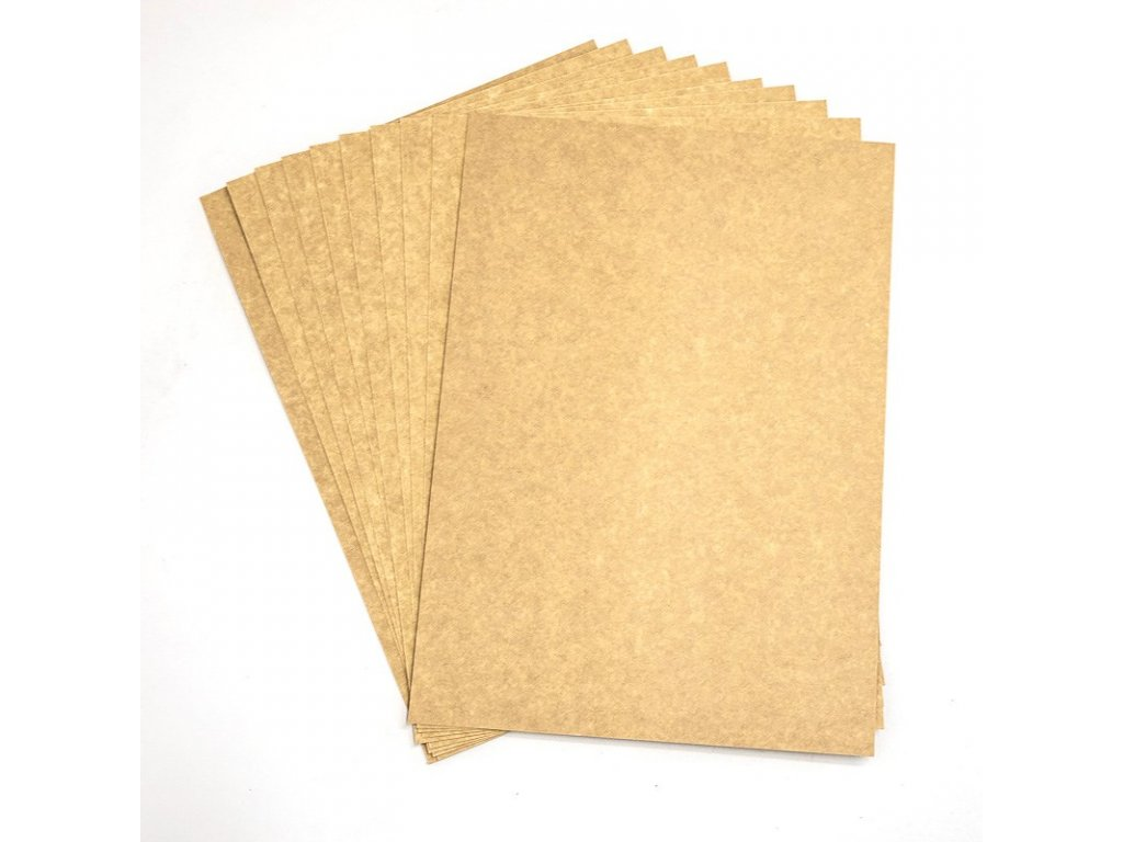 Kraftový papír A4 karton 205g/m2