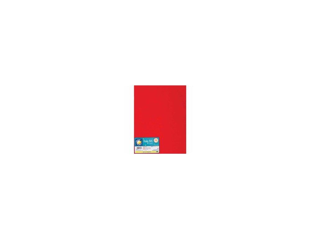Filc 140g/m2 Červený