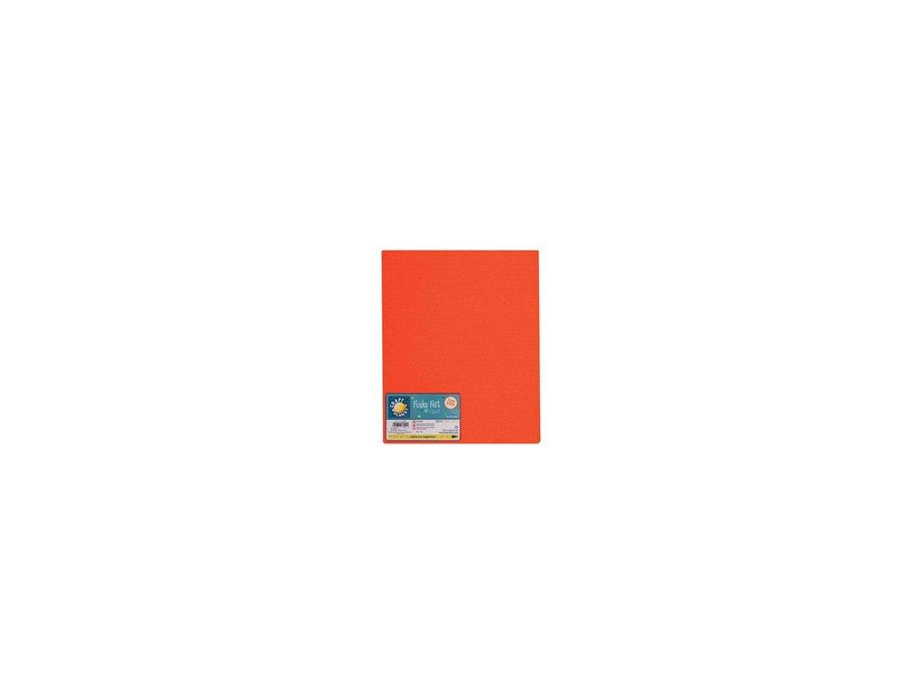 Filc 140g/m2 Oranžový