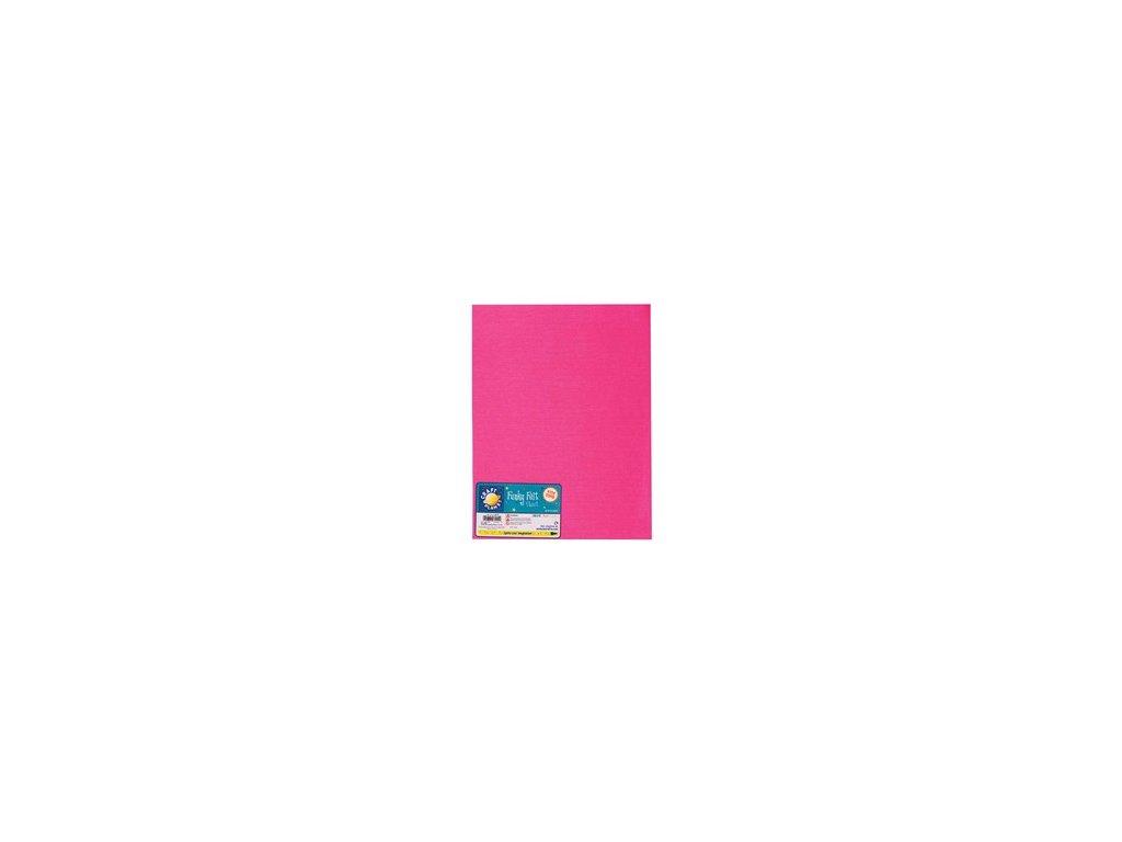 Filc 140g/m2 Výrazně růžový