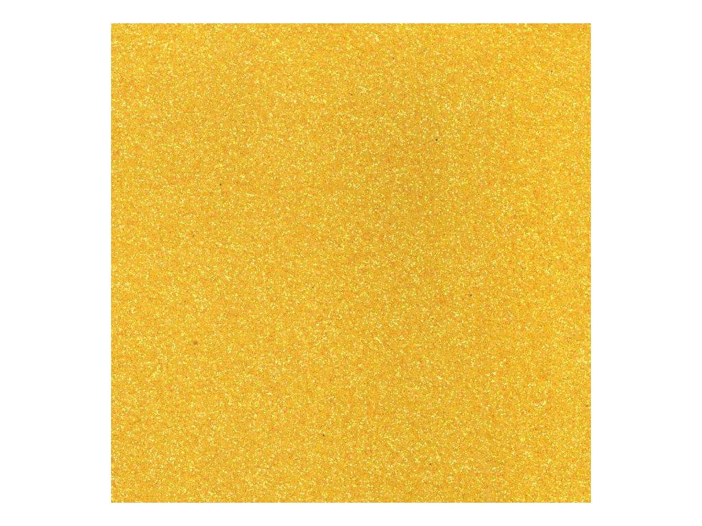 Pěnovka třpytivá žlutá