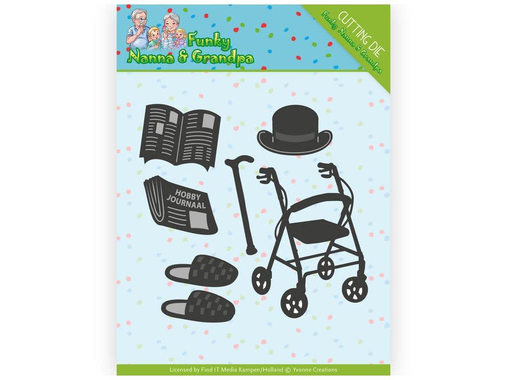 Šablona kovová vyřezávací Pro dědečka