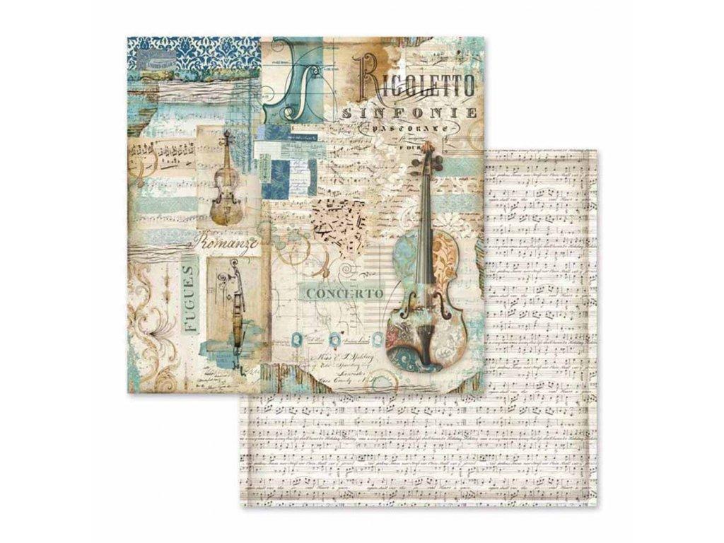Oboustranný papír Rigoletto Violin