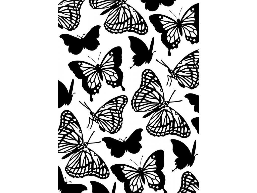 Embosovací kapsa Motýli
