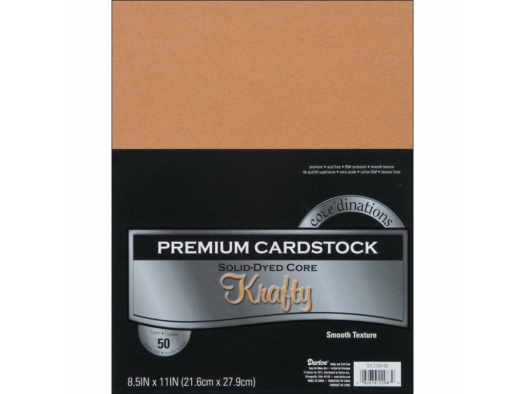 Papír Kraft 21,6x27,9 cm