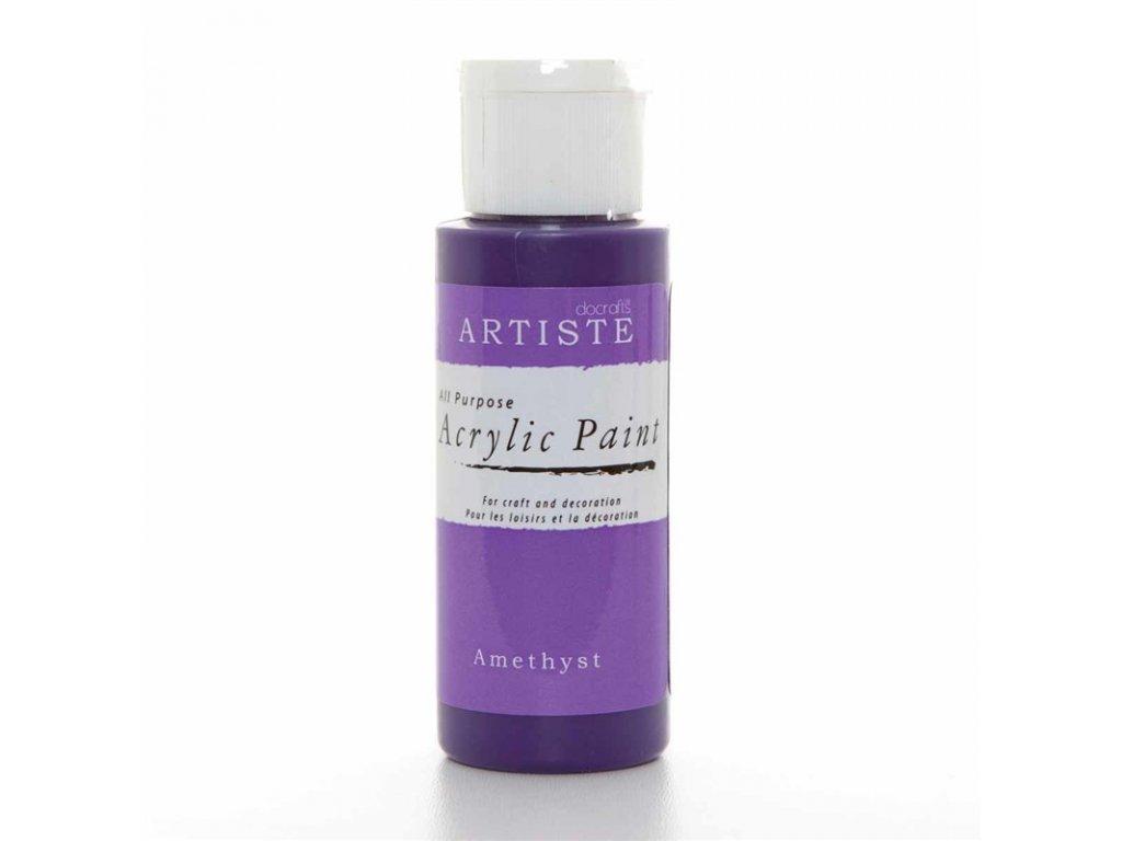 Akrylová barva ARTISTE - tmavě fialová