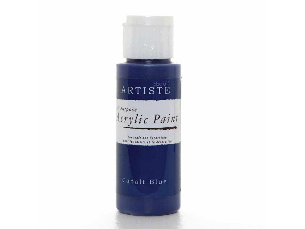 Akrylová barva ARTISTE - kobaltově modrá