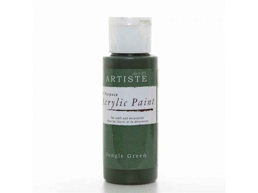Akrylová barva ARTISTE - zelená džungle