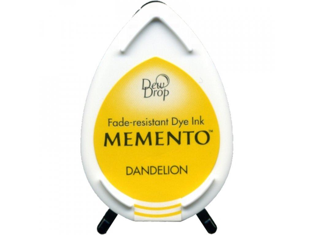 Razítkovací polštářek Memento pampeliškově žlutý