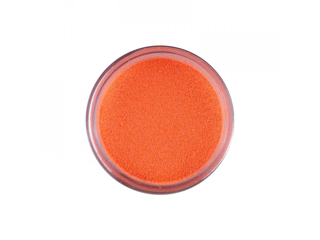 Prášek na embosing zářivý oranžový