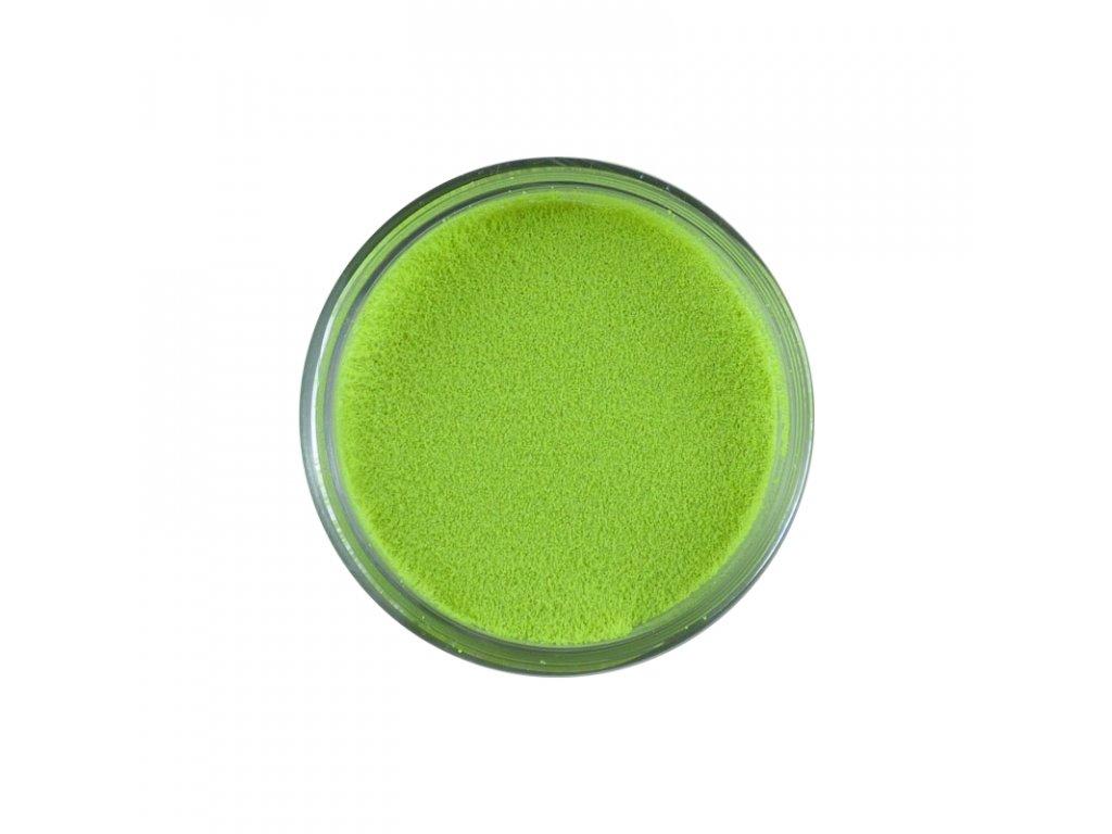 Prášek na embosing zářivý zelený